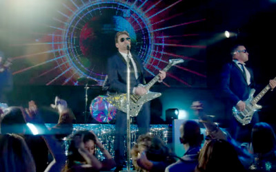 "Nickleback ""She Keeps Me Up"" Music Video inspired by Concert Visuals created by Mark Devlin Visual Design"